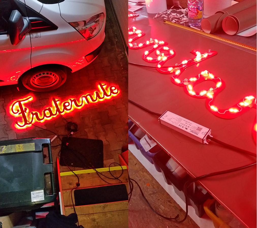 Enseignes LEDS